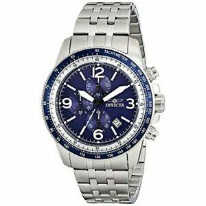 【送料無料】腕時計 ステンレススチールクロノグラフウォッチinvicta specialty 13961 stainless steel chronograph watch