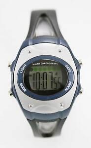 【送料無料】腕時計 メンズライトアラームプラスチックゴムクオーツ