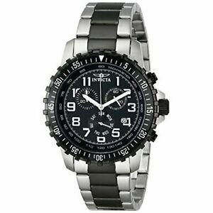 【送料無料】腕時計 ステンレススチールクロノグラフウォッチinvicta specialty 1326 stainless steel chronograph watch