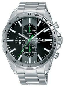 【送料無料】腕時計 クロノグラフブレスレットlorus gents chronograph bracelet watch rm385ex9
