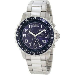 【送料無料】腕時計 ステンレススチールクロノグラフウォッチinvicta specialty 6621 stainless steel chronograph watch