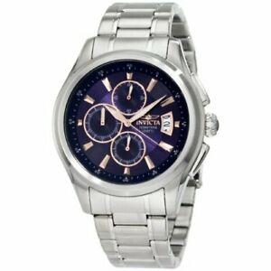 【送料無料】腕時計 ステンレススチールクロノグラフinvicta specialty 1482 stainless steel chronograph watch