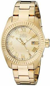 【送料無料】腕時計 ステンレススチールinvicta womens angel 18k goldplated stainless steel watch