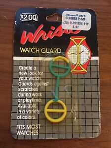 【送料無料】腕時計 ビンテージvintage wriste watch guard yellow green nos rare