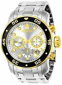 【送料無料】腕時計 プロダイバーステンレススチールウォッチリンクブレスレットinvicta mens pro diver stainless steel watch w link bracelet