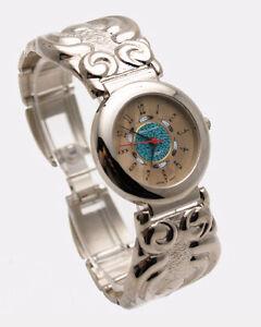 【送料無料】腕時計 ステンレススチールブレスレットアナログクォーツdejunowomens stainless steel metal bracelet analog quartz watch