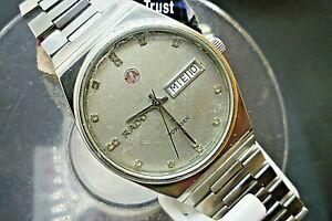 【送料無料】腕時計 メンズボイジャービンテージストラップmens 35mm rado voyager 17j automatic eta 28361 vintage ss adj strap
