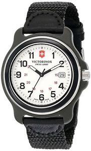【送料無料】腕時計 スイスナイロンストラップメンズウォッチ