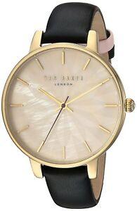 【送料無料】腕時計 テッドベーカーレディースレザーストラップテ¥ted baker womens leather strap watch te15200003 rrp 159