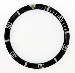 【送料無料】腕時計 ヴィンテージベゼルダークパールvintage insert bezel 1680, 1665, 5512, 5508 dark pearl faded