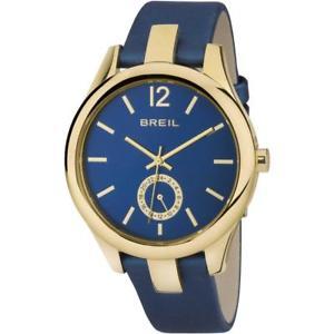 【送料無料】腕時計 ドナリバティゴールドベラペレブルサブメートルorologio donna breil liberty tw1462 gold dorato vera pelle blu sub 50mt