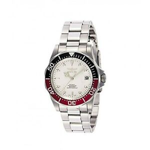 【送料無料】腕時計 メンズダイバーコレクションシルバーストーンウォッチinvicta mens 9404 pro diver collection automatic silvertone watch