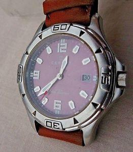 【送料無料】腕時計 デボンcertus mixte, ancienne montre a guichet date en etat de bonne concervation