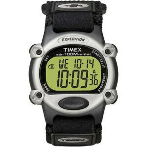 【送料無料】腕時計 メンズクロノアラームタイマーシルバーブラック