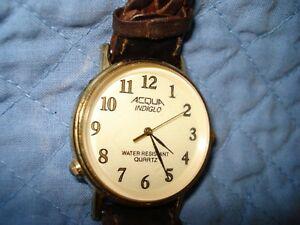 【送料無料】腕時計 acqua indiglo wrist watch working