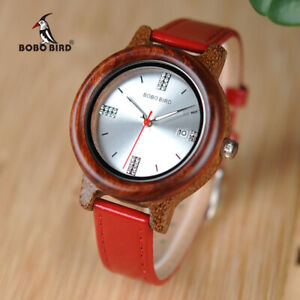 【送料無料】腕時計 ボボラインストーンbobo bird women watches rhinestone quartz date display gifts for her girl ladies