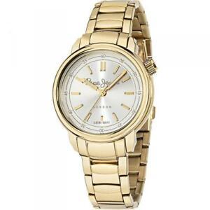 【送料無料】腕時計 ドナペペジーンズロンドンゴールドサリーorologio donna pepe jeans sally r2353117501 bracciale acciaio gold dorato london
