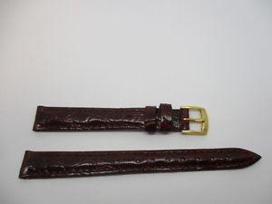 【送料無料】腕時計 ブレスレットワニウエストbracelet en crocodile bordeau morellato anallergic taille 12