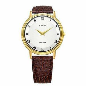 【送料無料】腕時計 オペラゴールドスチールブラウンリザードレザーウォッチjowissa womens j4031l opera gold ip steel brown lizard leather watch