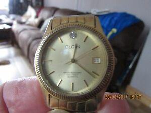 【送料無料】腕時計 ビンテージクオーツfor ******* vintage elgin quartz *******wrist watch