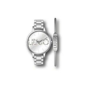 【送料無料】腕時計 リュジョカップルシルバーliu jo orologio donna couple tlj1284 silver