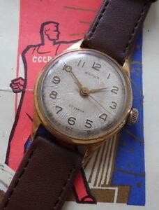 【送料無料】腕時計 ボルナキャリバーvolna precision design zenith montre mcanique 22 rubis calibre 2809 urss 1960