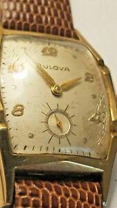 【送料無料】腕時計 ビンテージ#vintage bulova l7 1957 men039;s wrist watch