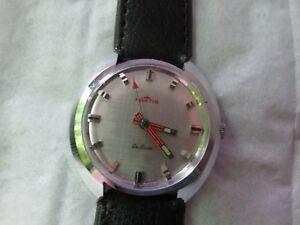 【送料無料】腕時計 ビンテージフォルティスfor *******vintage 1970s rare fortis de luxe *******wrist watch