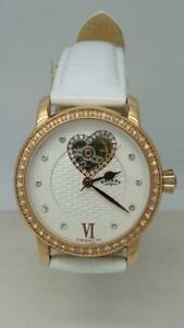 【送料無料】腕時計 ロータリーセミレディースローズゴールドスケルトンウォッチrotary ladies automatic rose gold mother of pearl semiskeleton watch ls0010306