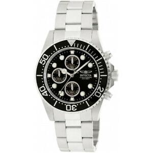 【送料無料】腕時計 プロダイバーステンレススチールクロノグラフウォッチinvicta pro diver 1768 stainless steel chronograph watch