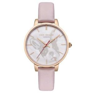 【送料無料】腕時計 テッドベーカーレディースピンクレザーストラップテ¥ted baker ladies pink leather strap watch te50272011 rrp 145