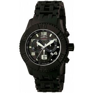 【送料無料】腕時計 ステンレススチールポリウレタンクロノグラフウォッチinvicta sea spider 6713 stainless steel, polyurethane chronograph watch