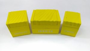 【おすすめ】 【送料無料】腕時計 ボックスケースプレゼンテーションinvicta authentic authentic presentation yellow watch watch box storage case presentation display, 野母崎町:6c4f9a88 --- claudiocuoco.com.br
