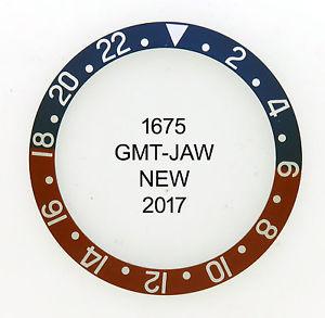 【送料無料】腕時計 モデルビンテージペプシベゼルgmt vintage bezel pepsi for model 1675 faded