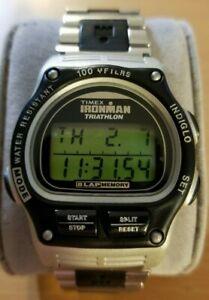 【送料無料】腕時計 ラップデジタルスポーツスチールプラスチックブレスレットtimex ironman triathlon 8 lap digital men sport watch 746 steelplastic bracelet