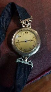 【送料無料】腕時計 ビンテージレディーススイスペンダントウォッチvintage ladies swiss girod wristwatch pendant watch running
