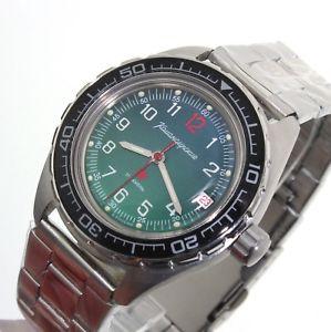 【送料無料】腕時計 ヴォストークロシアウォッチvostok komandirskie automatic russian watch 020711