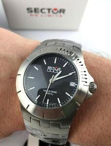【送料無料】腕時計 セクターダイバースイスアンティサブウォッチorologio sector 320 watch 3253320025 diver acciaio eta swiss deployante sub 100m