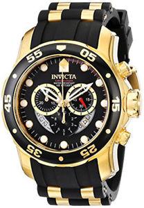 【送料無料】腕時計 メンズプロダイバークロノグラフクォーツウォッチトーンポリウレタンinvicta mens pro diver chronograph quartz two tone polyurethane 100m watch 6981