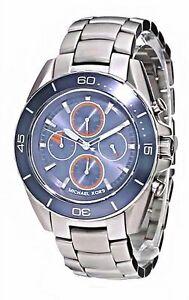 【送料無料】腕時計 ドルクロノグラフステンレススチールブレスレットウォッチ275 michael kors jetmaster watch stainlesssteel bracelet chronograph mk8484