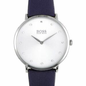 【送料無料】腕時計 ヒューゴボスクラシックhugo boss jillian classic watch silver 1502410