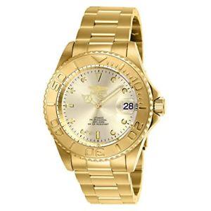 【送料無料】腕時計 メンズプロダイバーコレクションゴールドステンレススチールinvicta mens pro diver collection automatic gold stainless steel watch 9010ob
