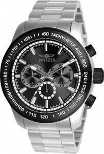 【送料無料】腕時計 メンズスピードウェイクロノグラフスティールブレスレットウォッチ mens invicta 21796 speedway chronograph steel bracelet watch