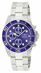 【送料無料】腕時計 メンズプロダイバークロノグラフシルバーステンレススチールウォッチ1769 invicta mens pro diver chronograph 200m silver tone stainless steel watch