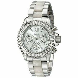 【送料無料】腕時計 プラスチッククロノグラフウォッチinvicta angel 18867 plastic, metal chronograph watch