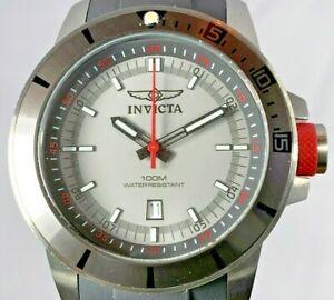 【送料無料】腕時計 メンズクロノグラフクォーツストラップウォッチプロダイバーオーシャンバロンinvicta 10734 mens 46mm ocean baron pro diver chronograph quartz strap watch