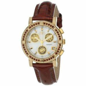 【送料無料】腕時計 ワイルドフラワーレザークロノグラフウォッチinvicta wildflower 10315 leather chronograph watch