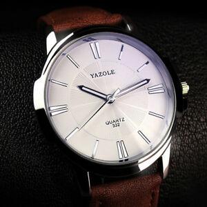 【送料無料】腕時計 ブランドカジュアルビジネスクリスマスyazole men watch brand luxury wrist watch casual business xmas gifts for him son