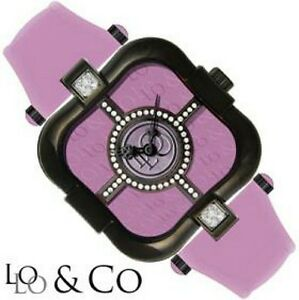 【送料無料】腕時計 ロロデザイナークラウドスイスクリスタルlolo amp; co designer watchcloudcrystal with swiss movement