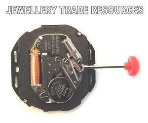 【送料無料】腕時計 クオーツムーブメント genuine miyota 2115 replacement quartz watch movement 3oc or 6oc date